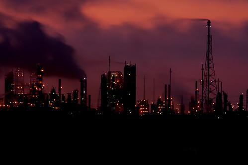 sunrise texas baytown houston refinery exxon photomix