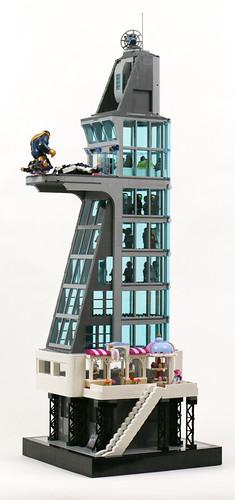 Stark Tower - maido cafe | by Gzu's Bricks