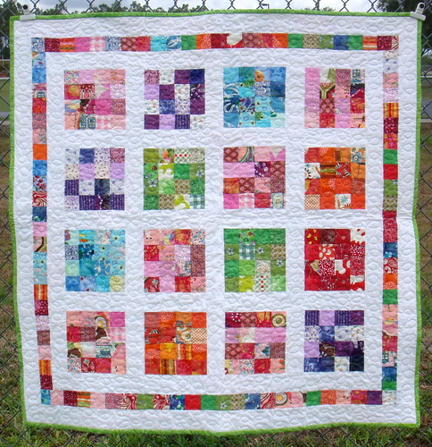 girls crayon quilt front | by becauseimme