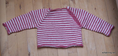 Pink Baby sweater done | by schjerning
