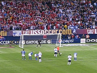American Penalty Kick - World Cup Qualifier Honduras vs. USA
