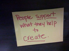 People support what they help to create | by miss_rogue