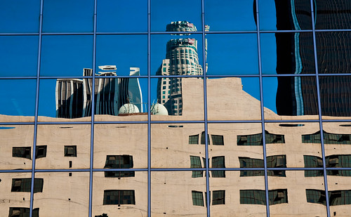 LA - Downtown reflections