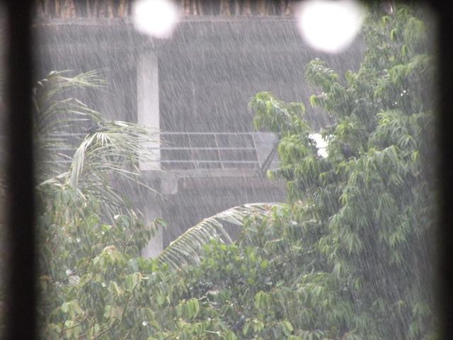 Rainy day in Dhaka