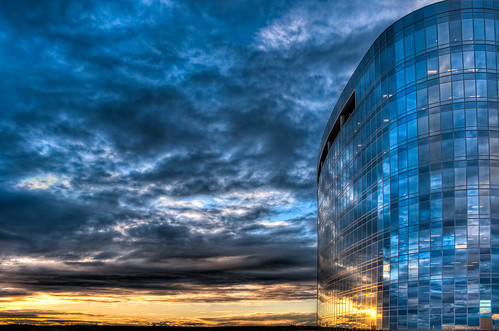 sunset sky reflection architecture night sanantonio clouds photoshop geotagged texas cloudy headquarters tesoro lightroom brandonwatts photomatix geo:lat=29615163 geo:lon=98459046