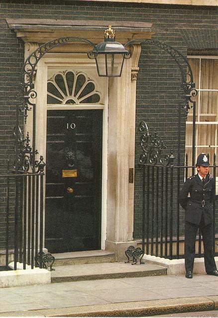 10 Downing Street Postcard