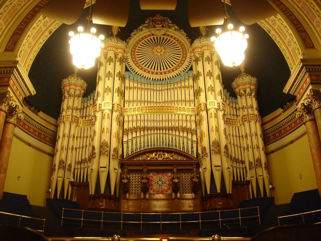 Leeds Town Hall, Organ | Reinhold Behringer | Flickr