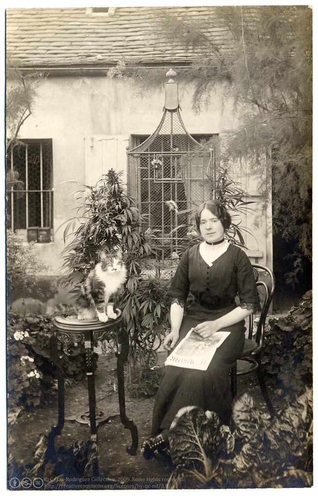 C 1910 Belle Epoque Nude Young Lady Antique Photo Postcard