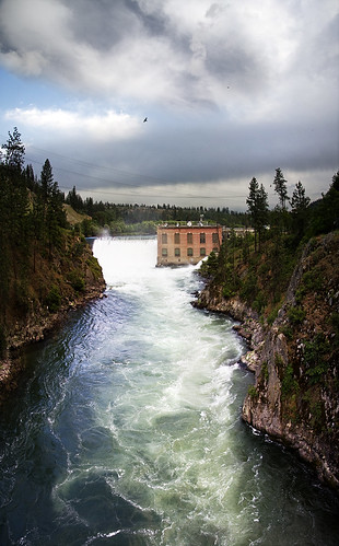 sky panorama clouds river spokane handheld stitched hydroelectric ninemiledam my50dhasarrived