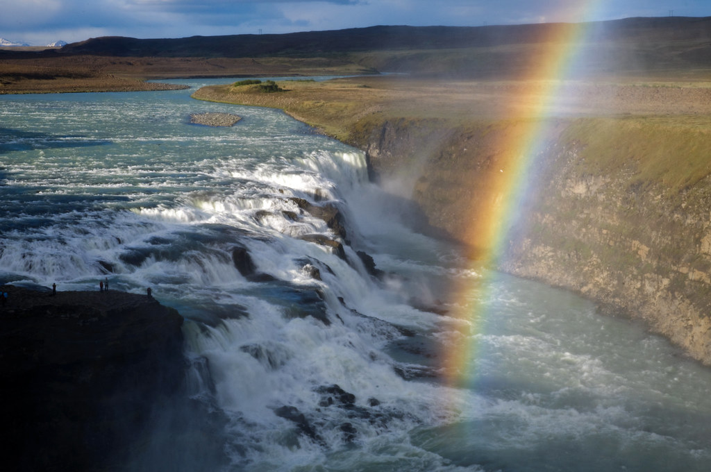Gullfoss, Iceland by Xindaan