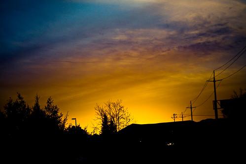 california sunset sky cloud tree silhouette power bart line explore frontpage 2009 32 pleasanton ef50mmf18ii ef50mmf18 dublinpleasantonstation lightroom2 utweryx