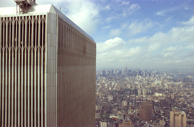 World Trade Center, North Tower - Shot on Film - July, 1986