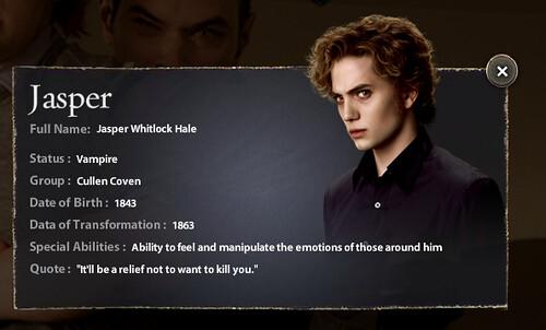 Jasper Hale-New Moon-The Cullens | sarah | Flickr
