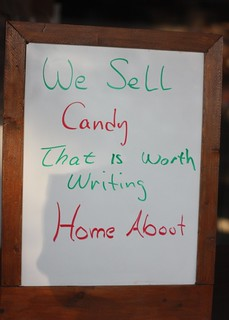 We Sell Candy That is Worth Writing Home About | by brofax