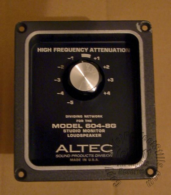 Altec Crossover | Original Crossover Network for the 604-8G