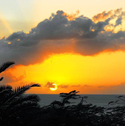 sunset montserrat