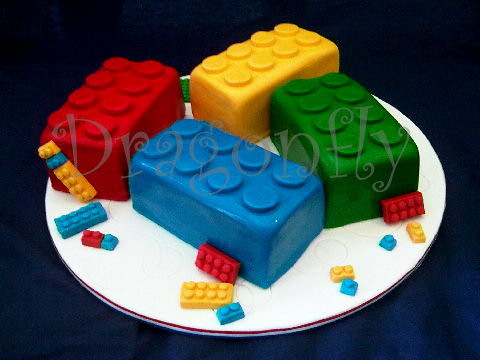 Lego Cake | This cake was for a little boy's birthday  100