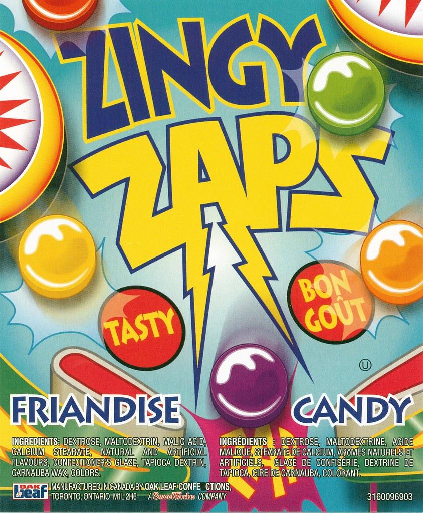 Zingy Zaps | VENDiscuss Label Library | Flickr