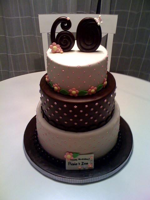 My Moms 60th Birthday Cake