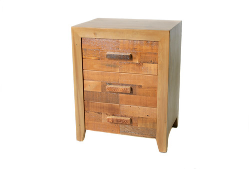 Wildale 3 drawer side table   by urbanwoods123