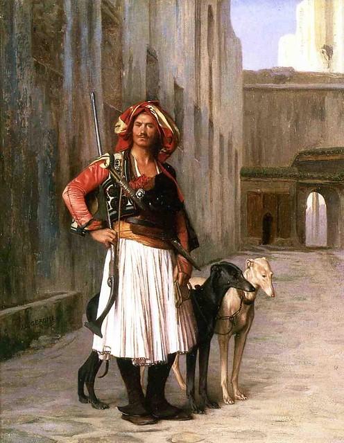 Jean-Léon Gérôme - 1867  - Arnaut from Cairo pc