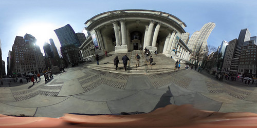 Outside New York Public Library (360) | by IRGlover