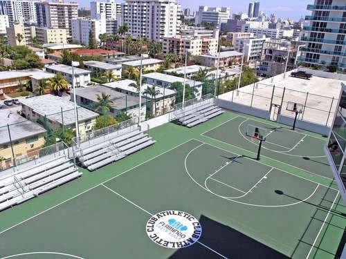 Flamingo South Beach Center Tower Basketball Courts