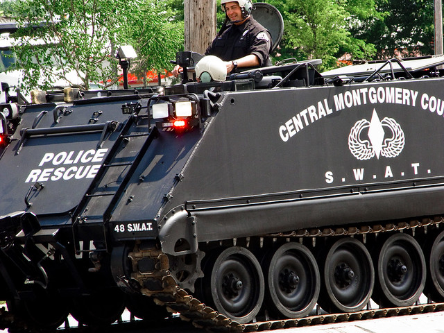 Montco Urban Assault Vehicle--Can someone tell me why Montgomery County (PA) needs a tank?
