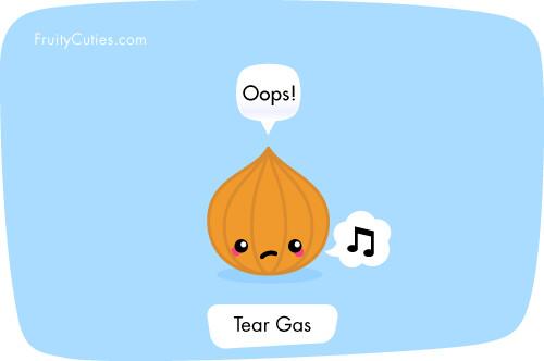 Onion Gas cute cartoon joke