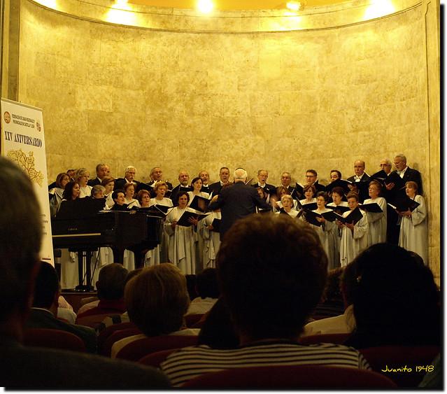 Coro Francisco Salinas. 23.05.09. Auditorio de San Blas. Salamanca