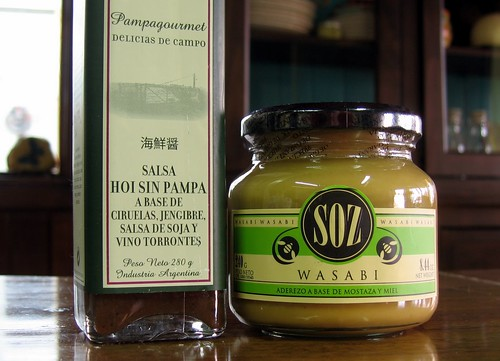 Hoisin Sauce & Wasabi Mustard | by Asado Argentina