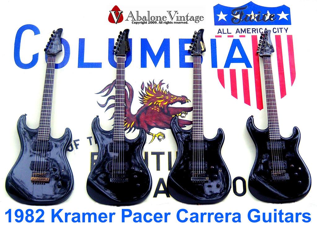 1982 Kramer Pacer Carrera Guitars With Rockinger Eddie Van Flickr