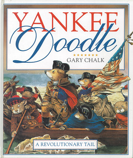 DK Yankee Doodle - Another picture book for Dorling Kindersley, Yankee Doodle uses the old song as a background to the story of a young musician during the American Revolution. Part of the fun in doing this, was fitting the animals with historically accur | by widdershins3