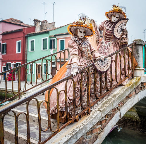 Carnival of Venice 2017 in Burano | by Sergey Galyonkin