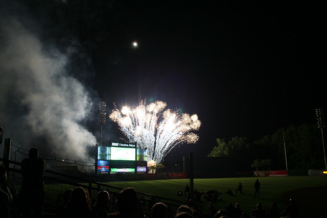 Fireworks Show - Myrtle Beach Pelicans - July 4th