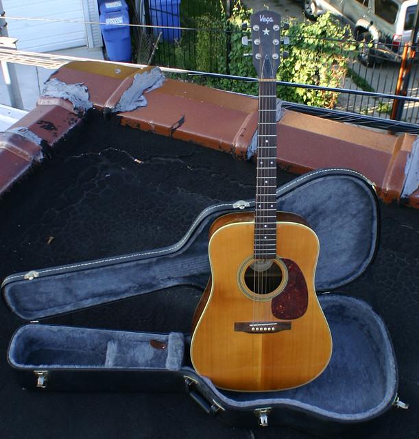Vega Acoustic Guitar Martin Netherlands Badge | Vega Acousti