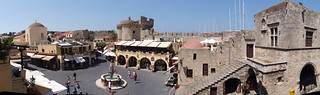 Panorama: Rhodes, Old city | by linmtheu