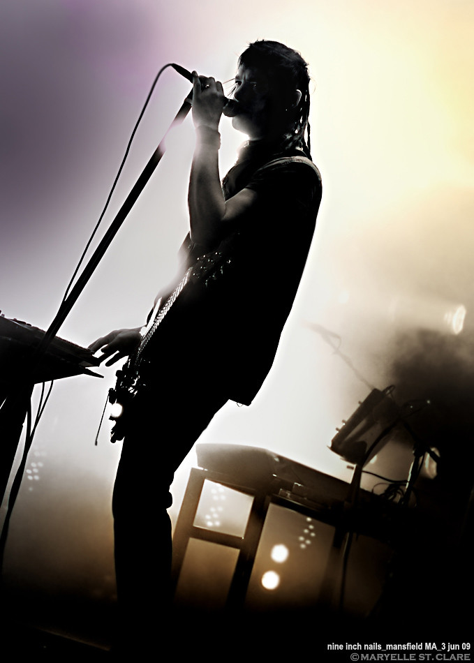 Robin Finck | Nine Inch Nails @ Mansfield 6/3/09