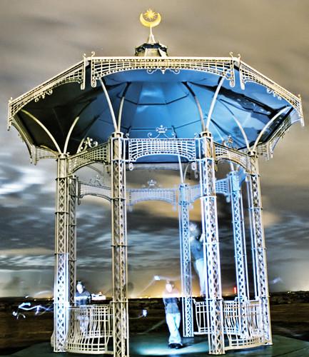 Damon Bandstand   by Hexagoneye Photography