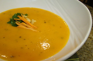 Cream of Carrot Soup   by Vegan Feast Catering
