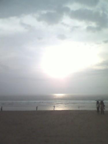 Senja di Pantai Kuta