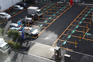 駐車場 | by yto