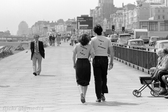 Hastings seafront 1979