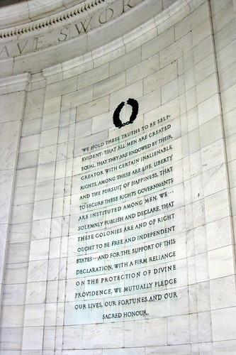 Washington DC - Potomac Park: Thomas Jefferson Memorial - Declaration of Independence | by wallyg