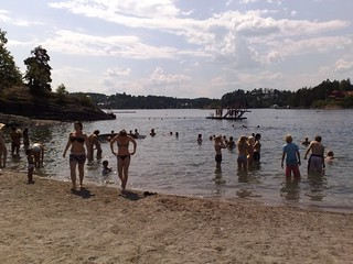 Hot summer at the beach in Oslo Norway #2 | by RennyBA