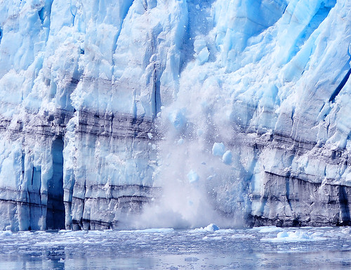 Calfing Glacier - Global Warming? | by Len Radin