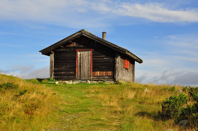 Old Cottage in the Mountain