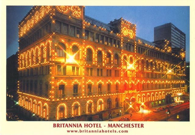Britannia Hotel Postcard