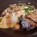 Pasta e Fagioli with Sausage and Rosemary