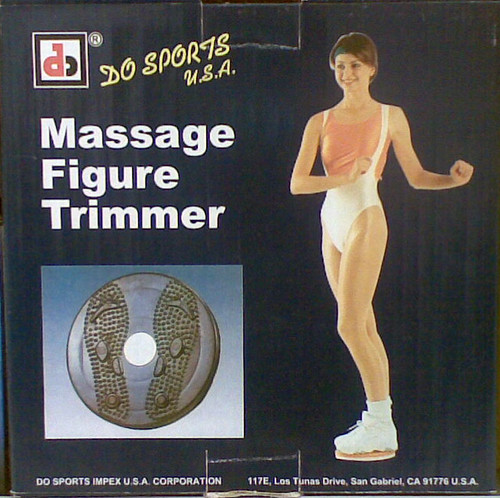 Massage Figure Trimmer | Modern exercise equipment from the \u2026 | Flickr